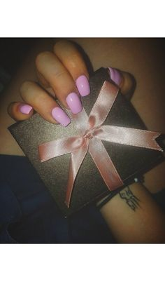 All about the nails... #nails #pink #gift