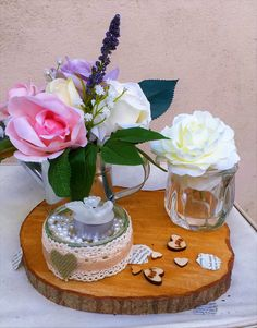 Truly rustic and pretty. Repin and share. look for more ideas at www.idocumbriaweddinghire.com