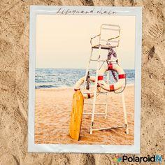 #Lifeguard #Chair. #Follow #PolaroidFx #Polaroid #Frame #Instant #Collages #Vintage #Old #Beach #Ocean #Nature #Sand #Sky #Beauty #Pretty #Waves #Seashore