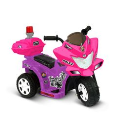 Take a look at the Purple & Pink Lil' Patrol Motorcycle Ride-On on #zulily today!