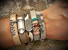 Design your one of a kind charm bracelet and show the world your story! www.keep-collective.com/with/taylorrobinette