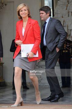Photo d'actualité : French Budget minister Valérie Pécresse leaves...