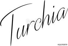 """""""Turkey text sign writen in italian"""" creato da morgan capasso"""