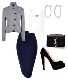 """Untitled #112"" by juliamarie803 on Polyvore featuring STELLA McCARTNEY, Christian Louboutin, Yves Saint Laurent and IBB"