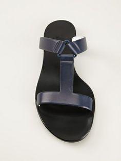 7cc3ff3ff8c0f0 Jil Sander - double strap sandals 8 Ladies Sandals