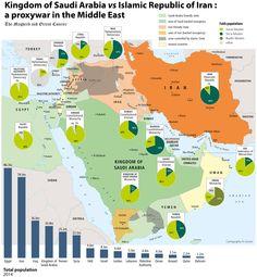 This Map Explains the Saudi-Iran Proxy War