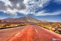 Octavian Serban: Close to El Teide. Tenerife, Country Roads, Teneriffe