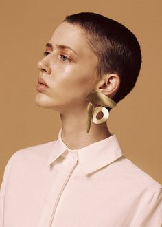 Earrings by Waif. For more, visit houseandleisure.co.za