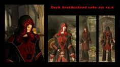 Dark brotherhood Skyrim Cosplay, Dark Brotherhood, Elder Scrolls, Darth Vader, Fandoms, Painting, Fictional Characters, Image, Gowns