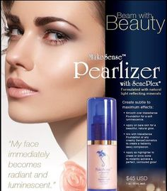 Pearlizer MakeSense Foundation is oil-free and water-resistant. This long-lasting formula can be used on any skin type and provides a mechanical shield equivalent to an SPF 30 when applied after our Daytime Moisturizer and anti-aging protection from SenePlex Complex. Each shade works with multiple skin tones as it adapts to your skin's pigmentation. www.senegence.com.au/BeaautifullLips