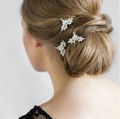 updo wedding hairstyle with handmade accessories