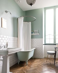 Number One Article on Pastel Bathroom Ideas - anticahomes Modern Bathroom Paint, Pastel Bathroom, Modern Vintage Bathroom, Best Bathroom Colors, Bathroom Color Schemes, Minimal Bathroom, Simple Bathroom, Bathroom Ideas, Turquoise Bathroom