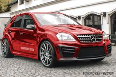 Wide Body Kit For Mercedes ML W164 | Suhorovsky Design