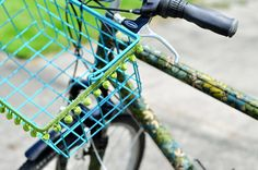 Bells, Baskets + Bling! 10 DIY Bike Accessories