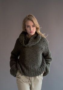 Sweater and Snood in Rico Fashion Big Mohair Super Chunky - 375 - Downloadable PDF