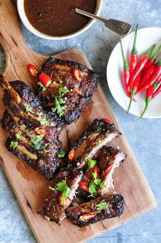 Hoisin & Ginger Pork Ribs #hoisin #ginger #porkribs #ribs #chinese