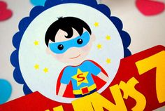 Party Centerpiece Super Hero Centerpiece by Mariapalito on Etsy, $10.75