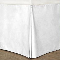 Cottonloft Colors Cotton Bed Skirt, White
