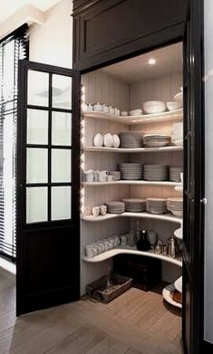 Corner Cabinetry - CLICK THE PICTURE for Lots of Kitchen Ideas. #kitchencabinets #kitchenorganization