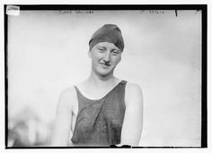 Champion swimmer Claire Galligan, 1910s (LOC) | Flickr