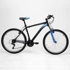 Bicicleta GONEW Endorphine 5.1 Thumb Shifter Shimano Alumínio - Aro 26 - 21 Marchas 2016 Grafite e Branco | Netshoes