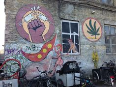 #streetart #christiania