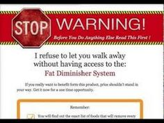 Fat Diminisher System Lose Weight Fast
