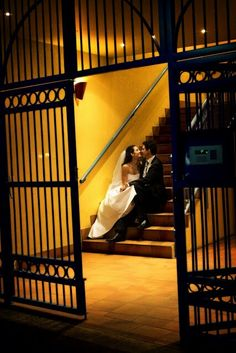 Bride pose