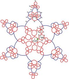 Luster Snowflake Tatting Pattern