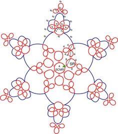 Luster Snowflake Tatting Pattern