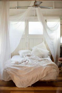 Dormitorios en blanco + shooping bag