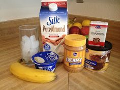 chocolate peanut butter energy boosting smoothie