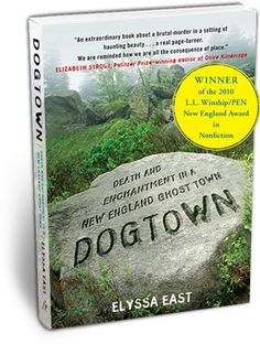 New England ghost town, witches, pirates, murder, madness, history...what's not to love?