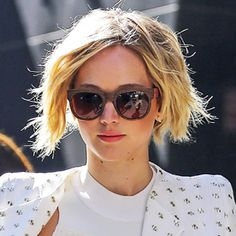 How to Grow Your Pixie Cut Into a Chin-Length Bob, As Inspired By Jennifer Lawrence  #InStyle