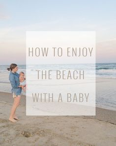 We just got homefrom our first vacation as a family of three to the  beaches of North Carolina and Florida. Vacationing with a little one made  our trip even more memorable this year. Babies at the beach may be the  cutest thing ever!Below are some of the tips we learned that helped us  enjoy our time in the sun and sand with Brody in tow.  There is no such thing as too much sun protection  Fair skin and strong sun rays are typically a recipe for trouble. Brody's  soft baby skin getting…
