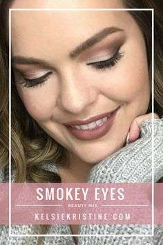 Smokey eyes using the #jaclynxmorphe palette! #bblogger #makeup