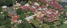 Aerial View of Winchester House San Jose, CA...160 rooms, 110 for tour. This link will take you to the official site on history and tour info...be prepared to spend a few hours reading and watching videos on their site. They have a lot of info on there!