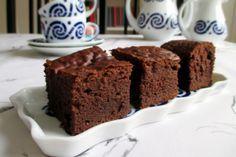¡Deliciosos brownies sin horno!