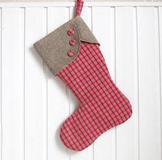 Diy Christmas Stocking Pattern, Felt Stocking, Christmas Stockings, Christmas Ornaments, Christmas Time, Xmas, Fabric Crafts, Diy Crafts, Good Day Sunshine