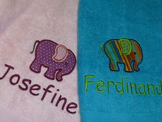 Handtuch individualisiert
