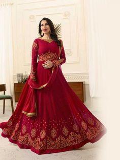 Eid Collection: Online Ethnic Designer Anarkali Suits for Women Robe Anarkali, Costumes Anarkali, Anarkali Tops, Anarkali Churidar, Designer Anarkali Dresses, Designer Dresses, Designer Wear, Eid Dresses, Dresses Online