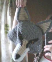 Old wolf hat by TinyHatter on DeviantArt Wolf Hat, Photo Craft, Winter Hats, Crochet Hats, Deviantart, Crafts, Patterns, Photos, Knitting Hats