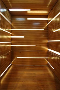 Elevator design, makes it look open (less claustrophobic) Light Architecture, Architecture Details, Interior Architecture, Interior And Exterior, Interior Modern, Lobby Design, Linear Lighting, Lighting Design, Lighting Ideas