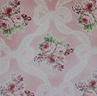 RURU BOUQUET~Garland Roses on Light Pink Bkgrnd~Cotton Fabric by Quilt Gate