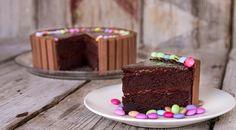 Τούρτα σοκολάτα με Kit Kat | GlikesSintages.gr