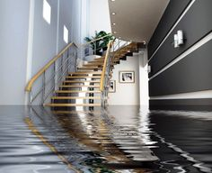 Basement: Cleaning Basement After Flooding With Drying Out Basement After Flooding And Avoid Basement Flooding from 4 Effective Ways to Prevent Basement Flooring