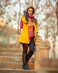 Iranian Women Fashion, Ethnic Fashion, Womens Fashion, Iranian Beauty, Muslim Beauty, Shift Dress Outfit, Alone Girl Pic, Persian Beauties, Elegant Birthday Cakes