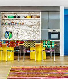 cozinhas com mesas grandes
