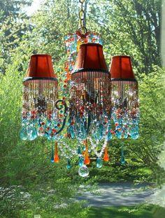 Type of Chandelier Lampshades You Can Get - Lamp Lights Gypsy Decor, Bohemian Decor, Bohemian Lighting, Bohemian Style, Deco Zen, Deco Boheme, Boho Home, Deco Floral, Diy Interior
