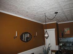"Decorative Ceiling Tiles, Inc. Store - Ivy Leaves - Styrofoam Ceiling Tile - 20""x20"" -"